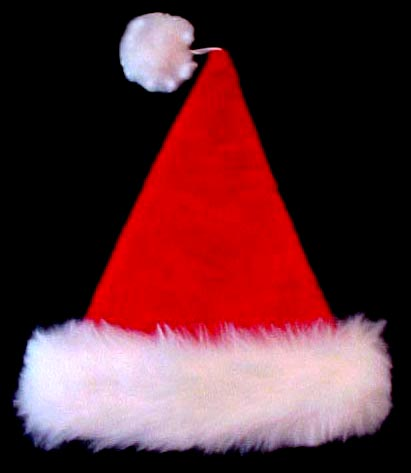 Faux Fur Santa Hat