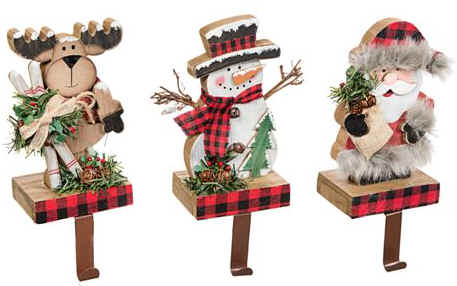 Reindeer Christmas Stocking Hangers